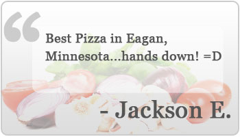 Best Pizza in Eagan, Minnesota...hands down! =D